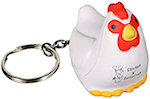 Chicken Key Chain Stress Balls